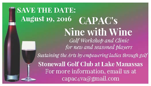 CAPAC's Nine with Wine Golf Fundraiser