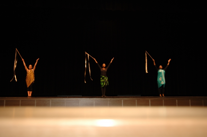 The Production Featured Hypnotic Choreography.