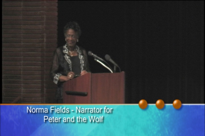 Norma Fields Adds Life As Narrator.