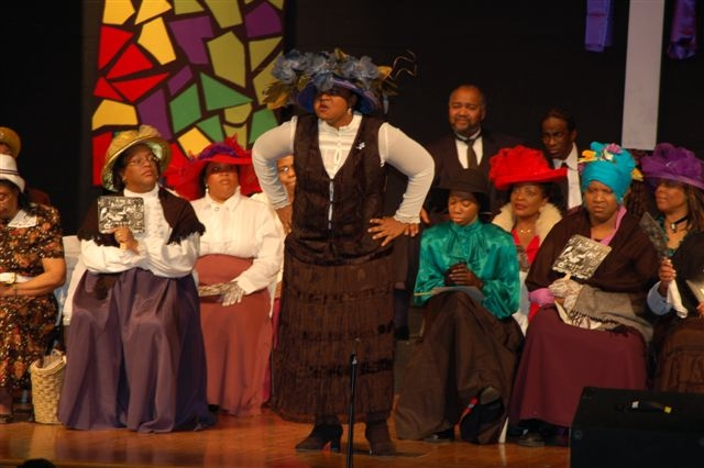 The Audience Goes Wild for Slabtown District Convention by Nannie Helen Burroughs!